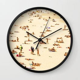 The Beach is my Home (popular design) Wall Clock