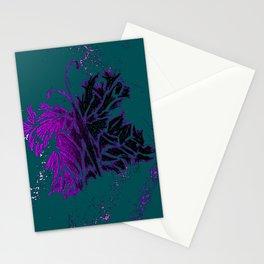 Butterfly Purple Stationery Cards