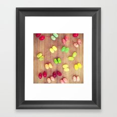 Jelly babes Framed Art Print