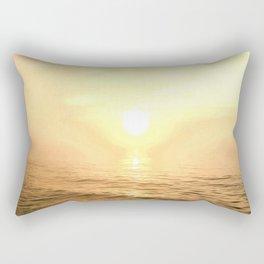 Gold Dawn Rectangular Pillow