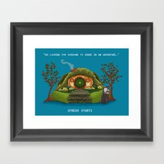 Share in an Adventure Framed Art Print