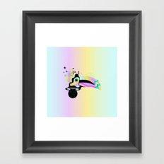 T R O P I C A L Framed Art Print