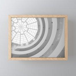 Guggenheim Interior | Frank Lloyd Wright Architect Framed Mini Art Print