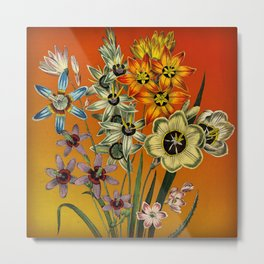 Garden Bouquet Metal Print