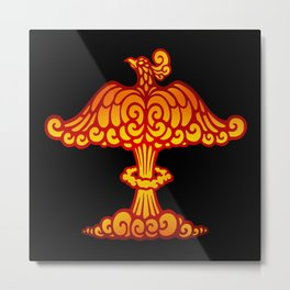 Phoenix Mushroom Cloud Metal Print