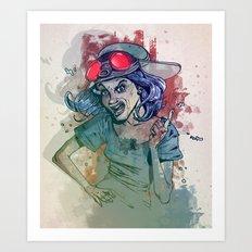 Cochina Girl Art Print