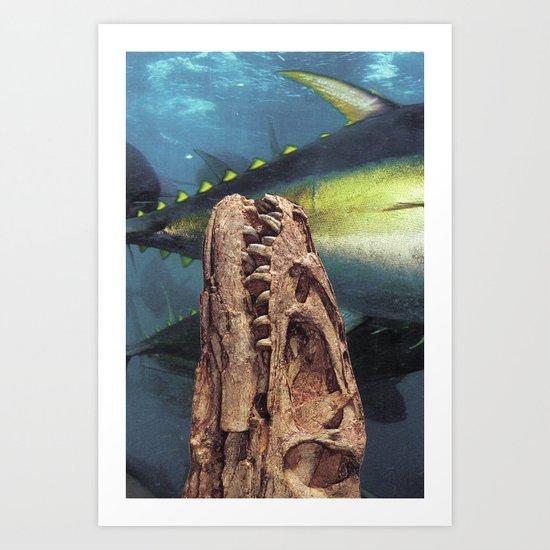 Collage #39 Art Print
