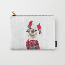 Coolest Llama Carry-All Pouch