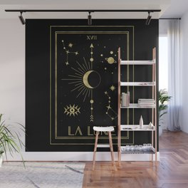 The Moon or La Lune Gold Edition Wall Mural