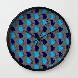 Blue Buffalo Nation Wall Clock