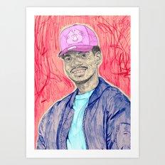 chanseytherapper Art Print