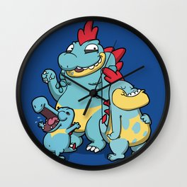 Pokémon - Number 158, 159, 160 Wall Clock