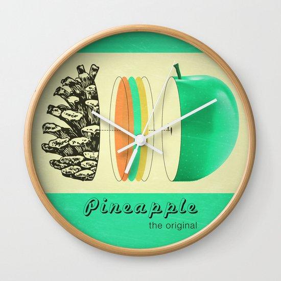 pineapple, the original Wall Clock