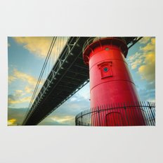 Little Red Lighthouse Rug