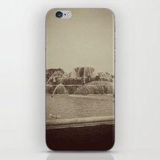 Chicago Buckingham Fountain Sepia Photo iPhone & iPod Skin