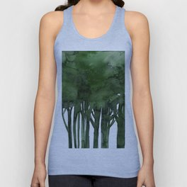 Tree Impressions No.1C by Kathy Morton Stanion Unisex Tank Top