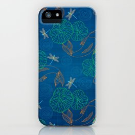 Koi Pond on Washi Silk iPhone Case