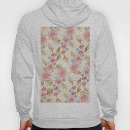 Vintage Floral Pattern (Color) Hoody