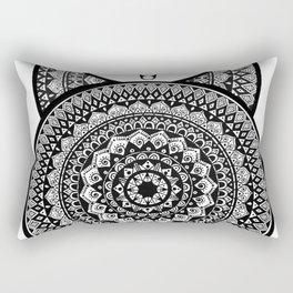 Tribal Taurus Mandala Rectangular Pillow
