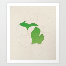 Michigan 26 Art Print
