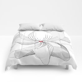 The Flower of my Heart Comforters