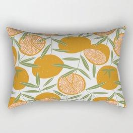 Exotic citrus Rectangular Pillow