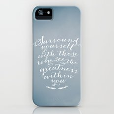Surround yourself with... iPhone (5, 5s) Slim Case