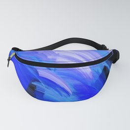 Abstract Broad Brushstrokes Design Fanny Pack