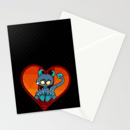 Cute Little Fiend Stationery Cards