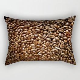Coffee Seeds Rectangular Pillow