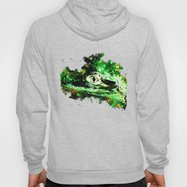 alligator baby eye wsb Hoody