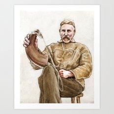 Man from Marshy Hope Art Print