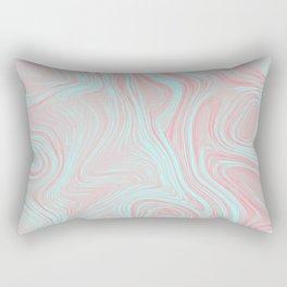 Pink oil spills Rectangular Pillow