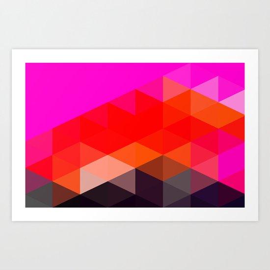 Modern Totem 02. Art Print