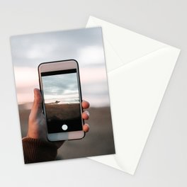 Taking a picture Stationery Cards