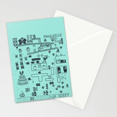 Retro Arcade Mash Up Stationery Cards