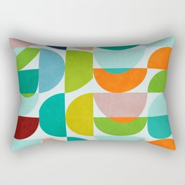 shapes abstract III Rectangular Pillow