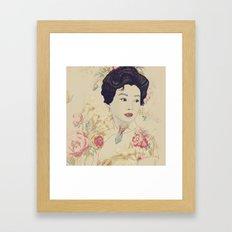 Mrs. Chan Framed Art Print