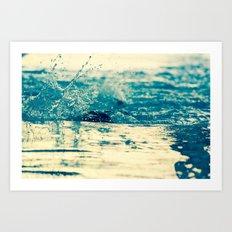 Water in Motion Art Print