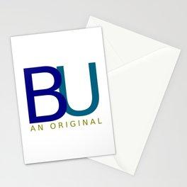 BU An Original (dark) Stationery Cards