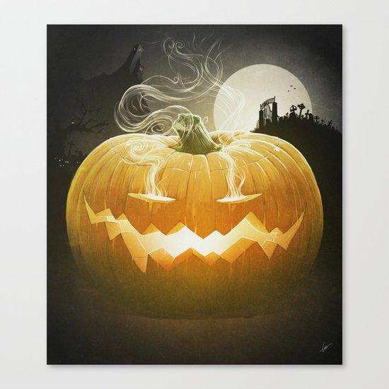 Pumpkin I. Canvas Print