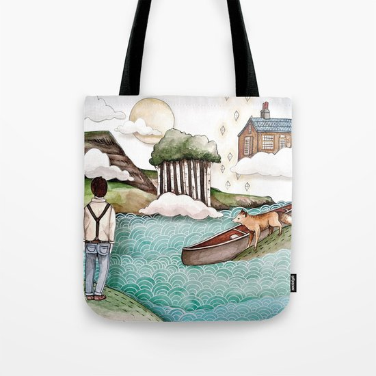 The Day We Saw the Sun Come Up Tote Bag