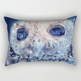 Space Owl Rectangular Pillow