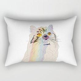 Rainbow Cat Rectangular Pillow