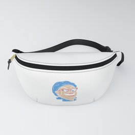 Crazy Lunch Lady - Cafeteria Canteen Ladies Gift Fanny Pack