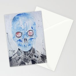 Freeze's Skull Stationery Cards