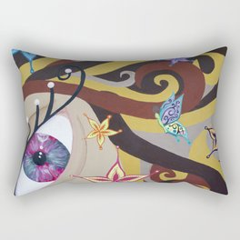 Becoming Rectangular Pillow