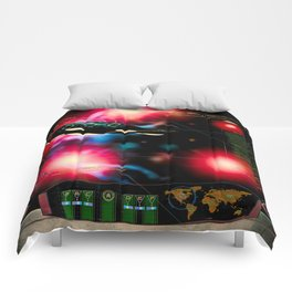 Space Invasion Comforters