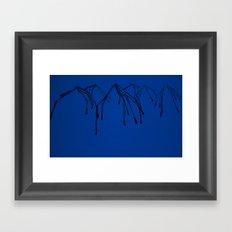 Crying Mountain Framed Art Print