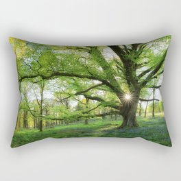 To Swing On The Tree Of Hope Rectangular Pillow